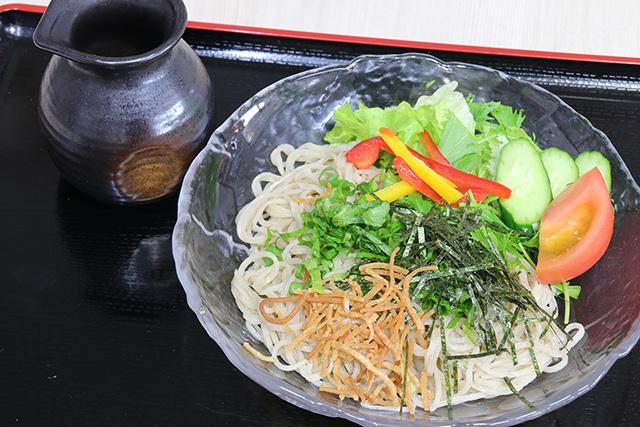 サラダそば(ぶっかけ)